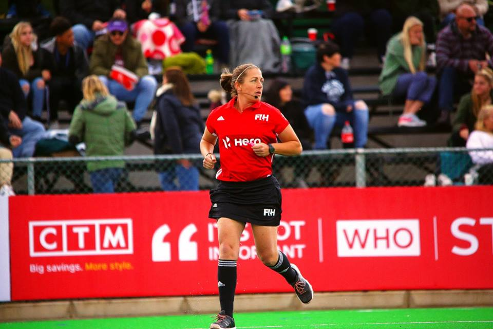 FF Sutton Awarded Team USA Field Hockey Umpire of the Year!