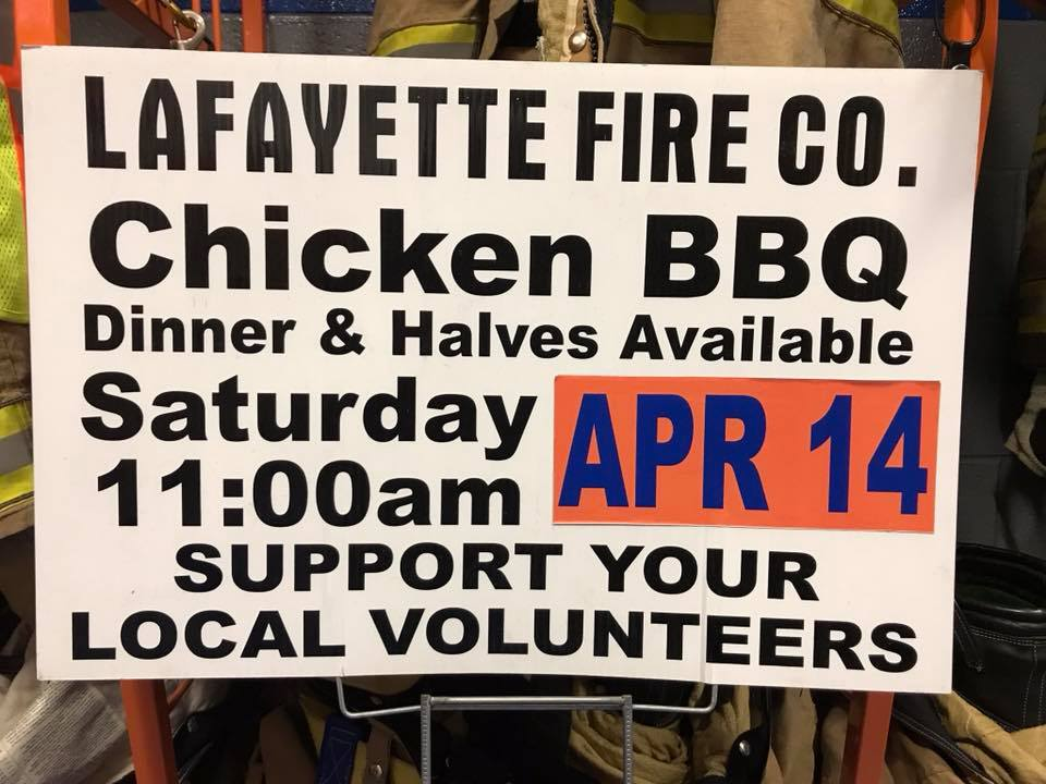 BIANNUAL CHICKEN BBQ IS COMING SOON!