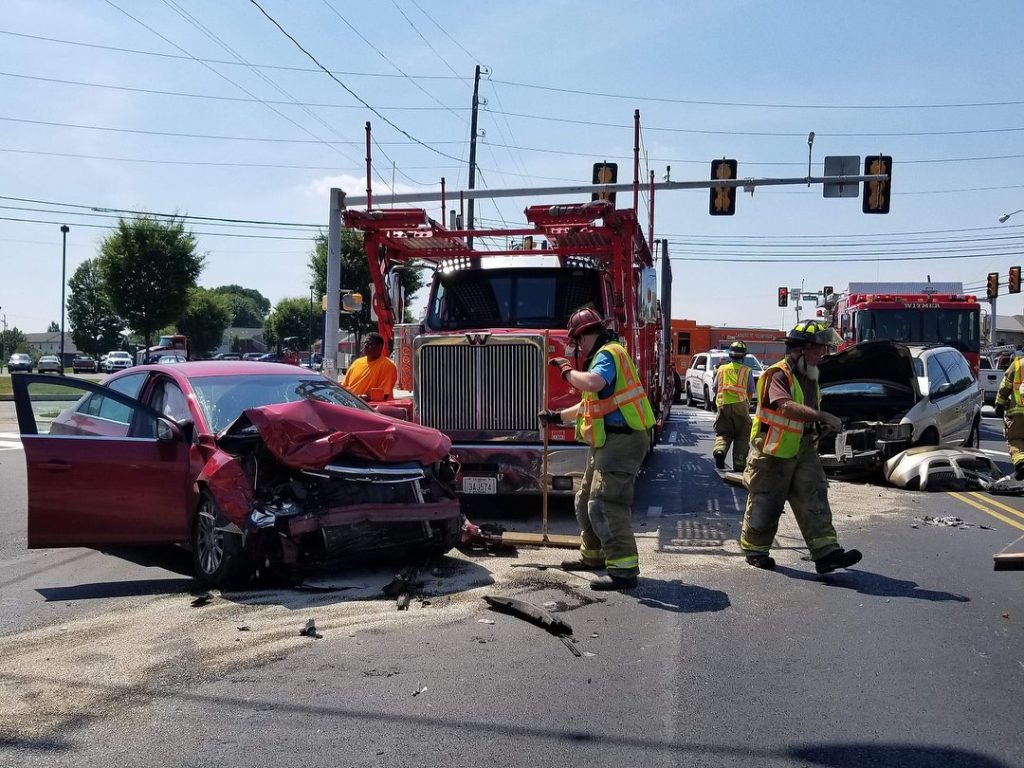 Lincoln Hwy E & Harvest Road Crash