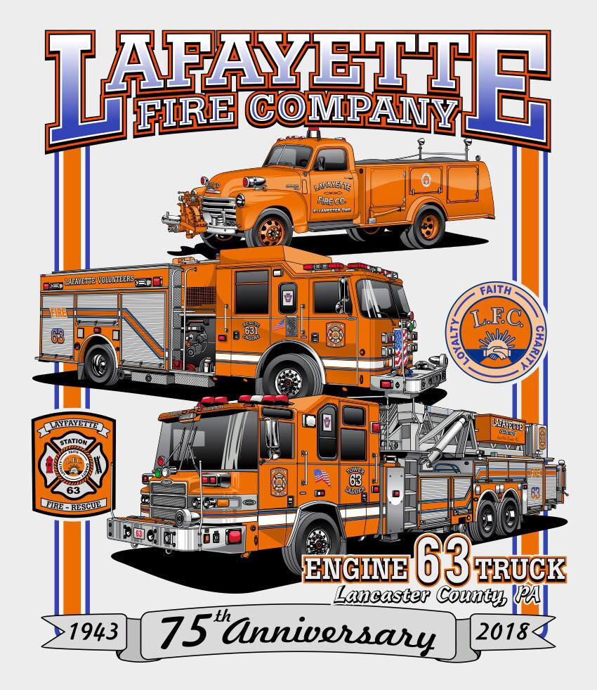 Pre-Orders for 75th Anniversary T-Shirts Now Available