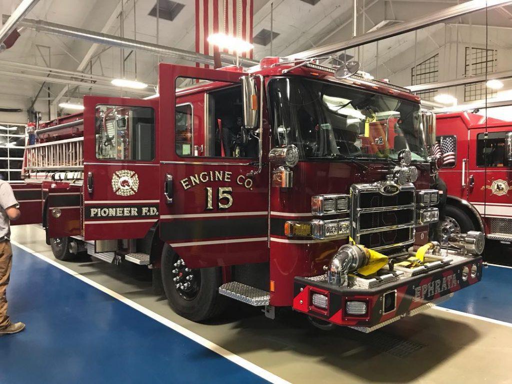 Engine 15-1 & a Pierce Demo Visit the LFC