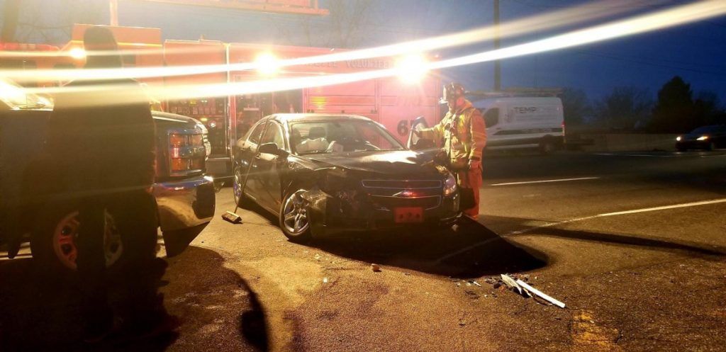 Early Morning Crash: Route 340 / Route 30 West