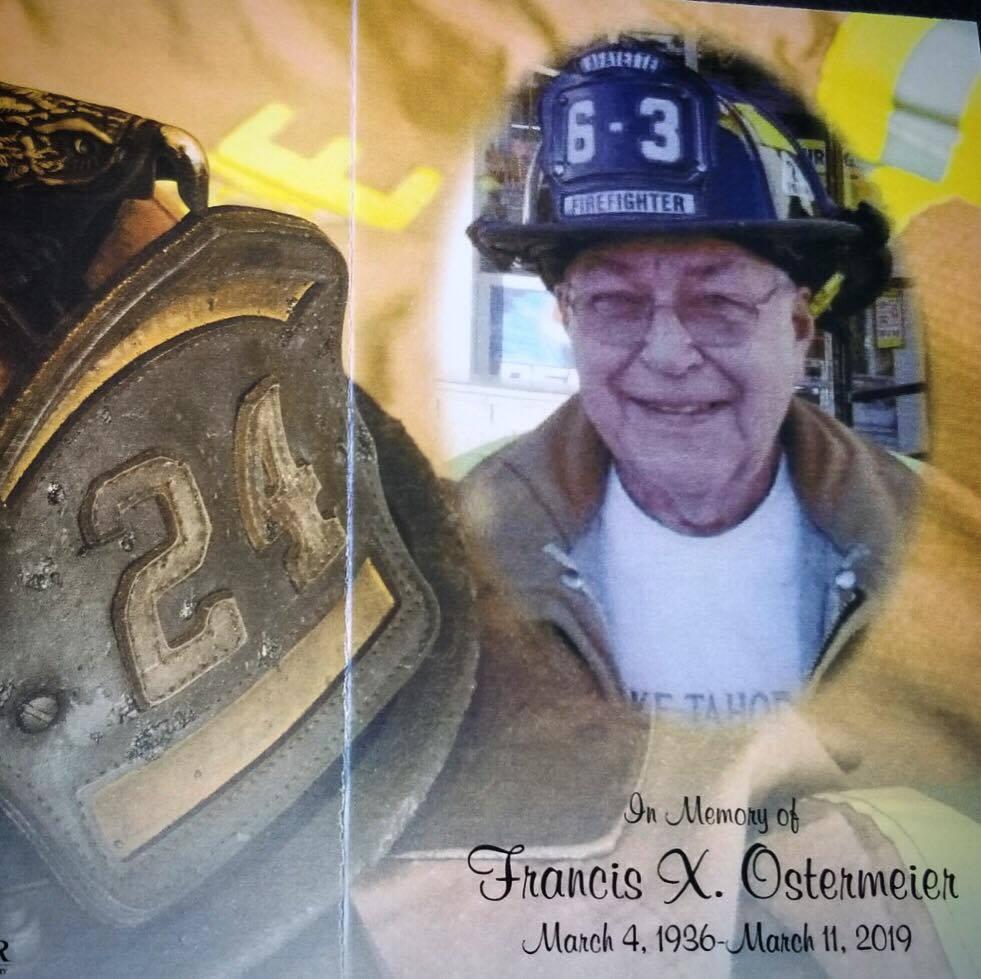 LFC Honors Life Member, Francis Ostermeier