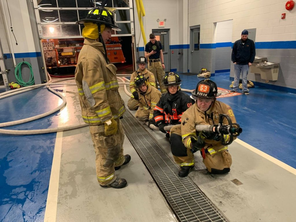 Large Attack Line Drill