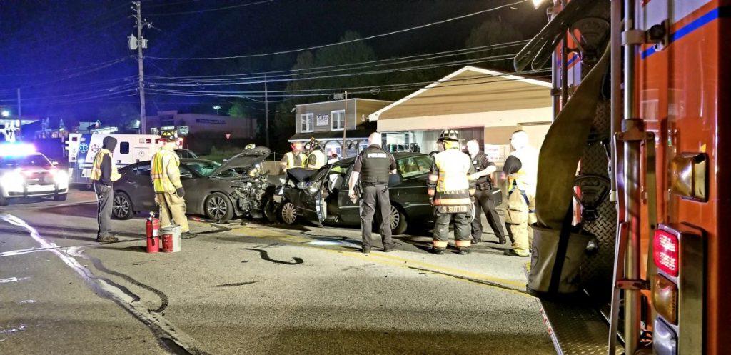 Head-On Crash in Bridgeport