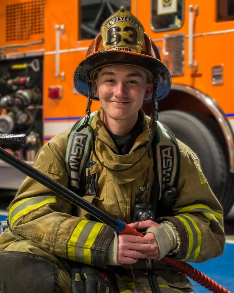 Congratulations Firefighter Imler!
