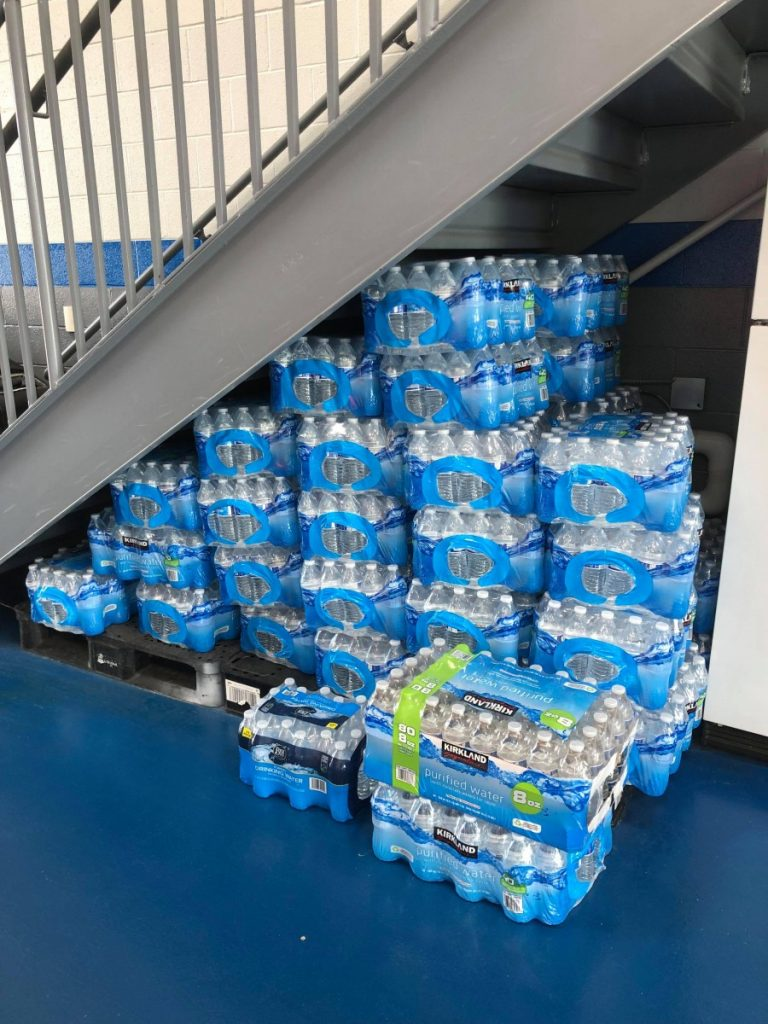LFC Receives Water Donation